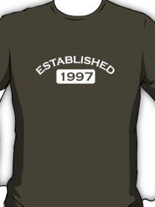 Established 1997 T-Shirt
