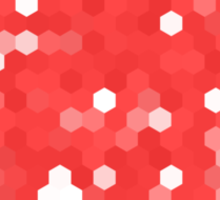 Pixel Love Sticker