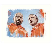 Walt & Jesse Art Print