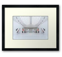 Welcome aboard my space ship © Framed Print