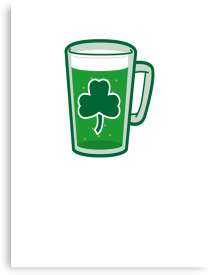 Saint Patrick's Day lucky green beer  by Tia Knight