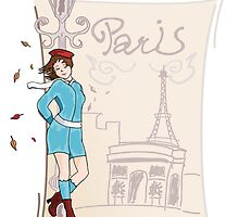 Paris Girl by pda1986