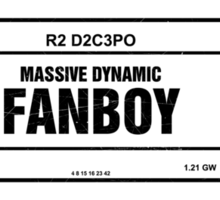 Fanboy Label Sticker