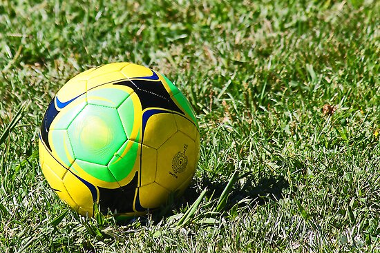 Colorful Soccer Ball by Darrick Kuykendall