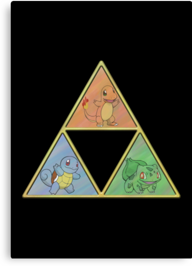Pokemon Triforce by Colossal