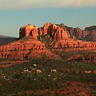 Red Rocks Above Sedona by outcast1