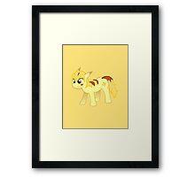 My Little Pokemon - Thunder Blot Framed Print
