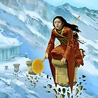 Isawa Kimi - Void Shugenja by Jon Hodgson