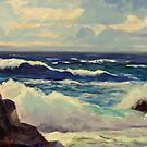 California Seascape 115 by Max DeBeeson