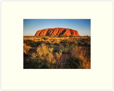 Ayers Rock (Uluru) by Kim Andelkovic