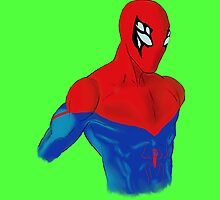 Spider-Man Alternative Suit Design Bust (Green) by strkr241