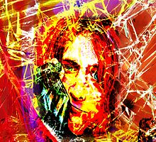 Kurt Cobain - Fractured by SRowe Art