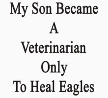 My Son Became A Veterinarian Only To Heal Eagles by supernova23