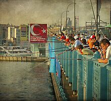 The beating of the Galata Bridge by rentedochan