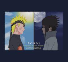 Naruto and Sasuke ~ Bonds by MariahDawn