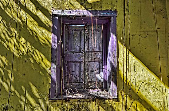 Purple Shutters... by Jeremy Lavender Photography