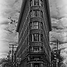 Gastown...HDR Black &amp; White by peaceofthenorth