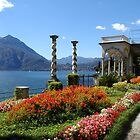 Villa Monastero, Varenna, Lake Como by journeyart