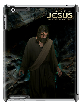 Jesus: Walk with Me and obey (iPad Case) by Angelicus