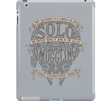 Solo Smuggling iPad Case/Skin