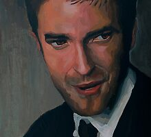 Edward Cullen - Robert Pattinson Portrait by Khairzul MG