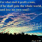 What Man Shall Profit by Vince Scaglione