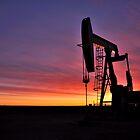 Sunrise near Sidney Montana by pdsfotoart