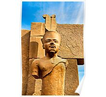 Hollow - the Face of an Ancient Pharoah Poster