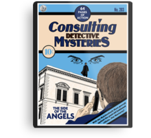 Consulting Detective Mysteries Metal Print