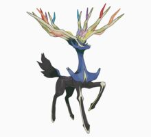 Xerneas - Pokemon by leaficia
