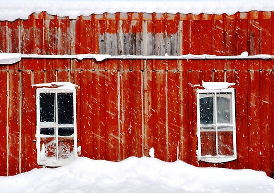 Red Barn.. by JOSEPHMAZZUCCO