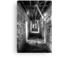 Hall in the Asylum Canvas Print