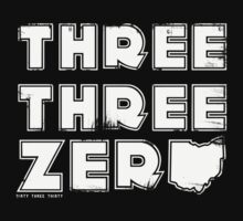 Three Three Zero (Distressed Version) by dirty330