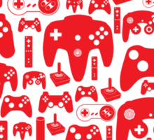 Gaming Love Sticker