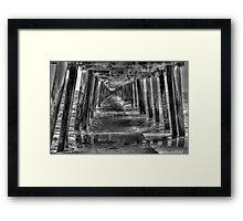 Henley Beach Jetty Framed Print
