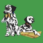 Dalmatian Fire Dogs by TwoShoes