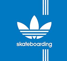 Adidas Skateboarding - Blue by Mike Hill