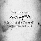 Anthea spirit of the throne by UtherPendragon