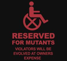 Reserved for Mutants by warbucks360