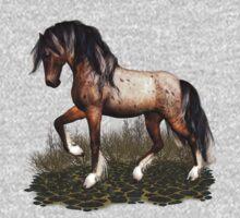 Appaloosa Mustang .. Tee Shirt by LoneAngel