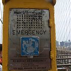 Emergency Call Point, Brooklyn Bridge by Katherine Case
