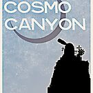 Final Fantasy VII - Cosmo Canyon Tourism Poster by FFVII-TheSeries