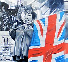 girl with union jack by studenna