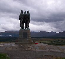 The Commando Memorial, Spean Bridge by Katherine Case
