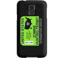 Zombie Hunting Permit 2013/2014 Samsung Galaxy Case/Skin