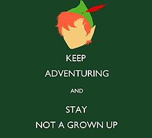 Keep Adventuring by ZeeHoople