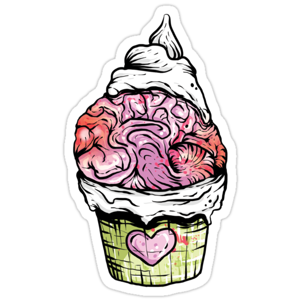 Brain Cupcake by Ella Mobbs