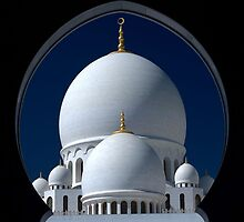 Sheikh Zayed Grand Mosque; Abu Dhabi  by Ian Mitchell
