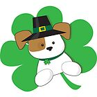 Irish Puppy by Maria Bell