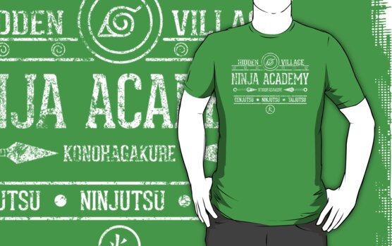Ninja Academy by TeeKetch